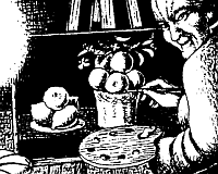 Zurbaran malt das Stillleben mit Zitronen, Orangen und Rosen, 1633
