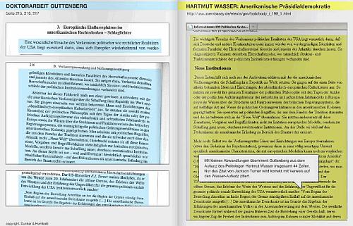 Guttenberg-Plagiat-Synopse, 16. Februar 2011