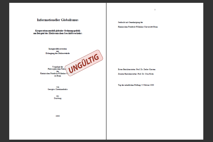 Andreas oltrogge dissertation proposal