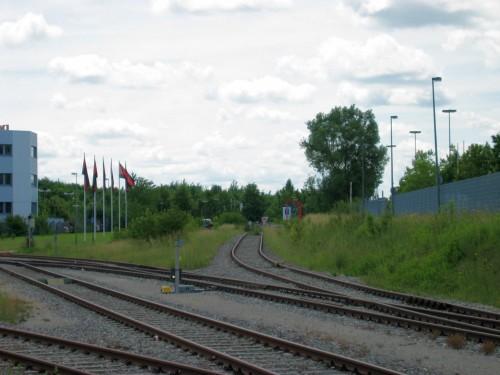 Bahnstation Augsburg-Messe