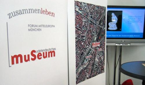 Stand des geplanten Sudetendeutschen Museums