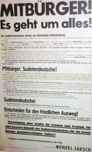 Sozialdemokratisches Plakat