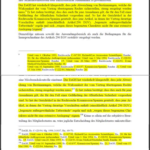 Text der EU-Kommission 2006, S. 5 (oben), Dissertation 2010, S. 93 (unten)