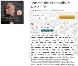 Werbung für das neue Buch von Bettina Wulff und Nicole Maibaum