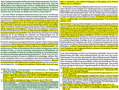 Die Seiten 18 und 19 aus Lammerts Dissertation mit Markierung der Übernahmen aus Mühleisen 1973b
